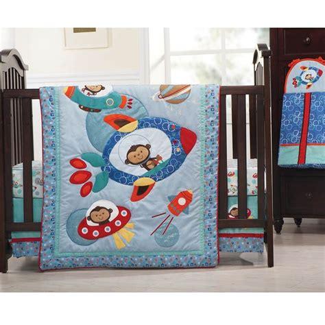 Baby Boy Monkey Crib Bedding by Astro Monkey 4pc Bedding Set Baby Boy