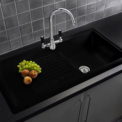 black ceramic kitchen sinks black ceramic kitchen sink reginox black ceramic 1 5