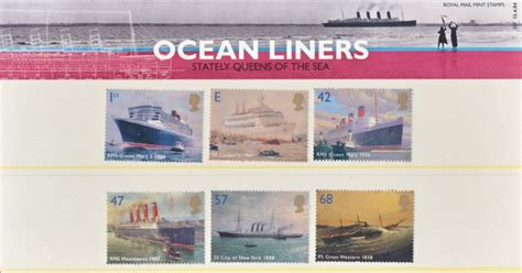 Great Britain Liners 2004 St Set 2004 liners gb packs 2001 2005 gb presentation packs great britain sts one