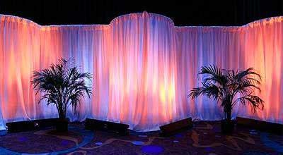 pipe and drape lighting pipe drape drape lighting rental best price guarantee
