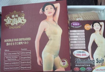 Slimming Suit Monalisa Baju Pelangsing Wanita Infrared1 jual slimming suit far infrared baju pelangsing kozui
