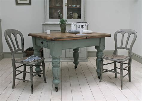 distressed antique farmhouse kitchen table by distressed