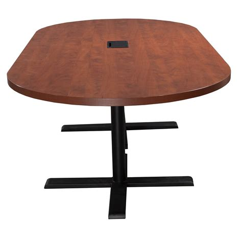 Steelcase Conference Table Steelcase Payback Used 8ft Laminate Conference Table Cherry National Office Interiors And