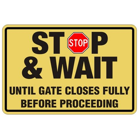 x before you drive att it can wait youtube stop and wait garage gate sign 24 x 36 bc site service