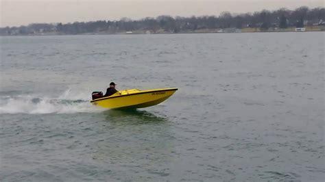 mini hawk boat mini hawk boat youtube