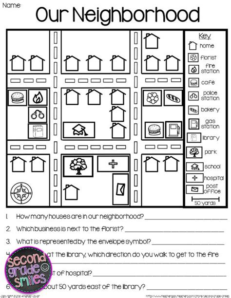 Free Map Skills Worksheets by Map Skills Reading Maps Printables Map Task