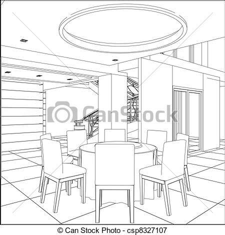set houses drawings stock photo photo vector illustration vectors illustration of restaurant table set vector
