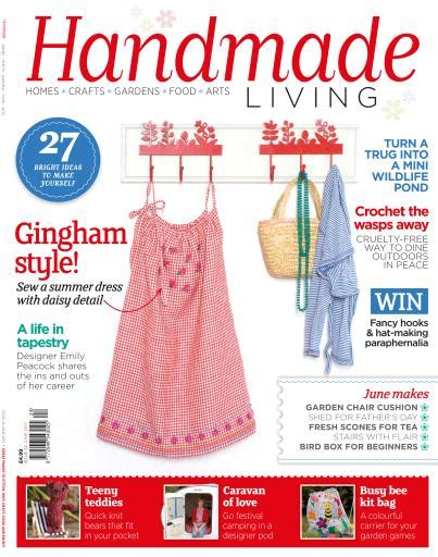 Handmade Magazines - handmade living magazine june 2013 issue 24