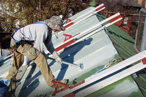 restoring  standing seam roof jlc  rooftop