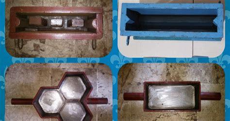 Jual Cetakan Batako Surabaya alat cetakan batako paving manual tumbuk geblokan