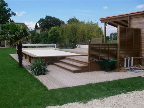 Amenagement Exterieur by Am 233 Nagement Exterieur Avignon Terrasses Bois L Isle Sur La
