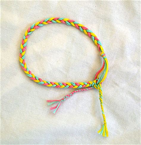 How To Make String Patterns - string bracelet patterns knitting gallery