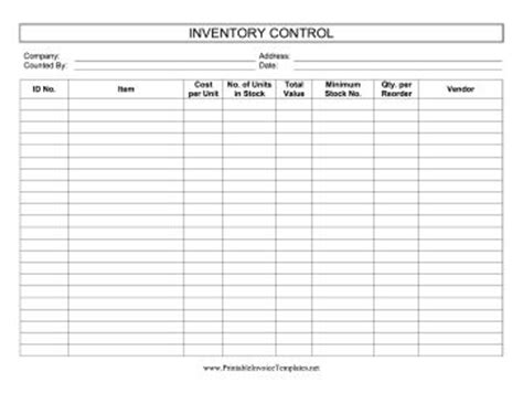 inventory log books this printable inventory log keeps track of stock
