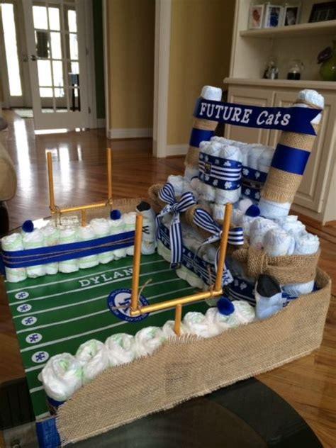 ideas  football diaper cakes  pinterest baby shower sports baseball diaper