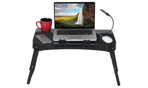 Meja Laptop Portable Aluminium With Cooler Big Fan Mousepad Al 0648 laptop side table 50 30cm wood laptop table lazy bedside