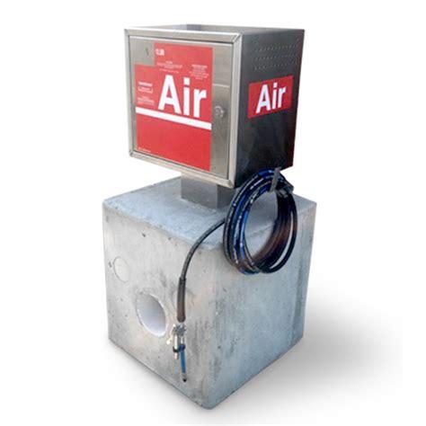 air machine with vault pedestal tpi