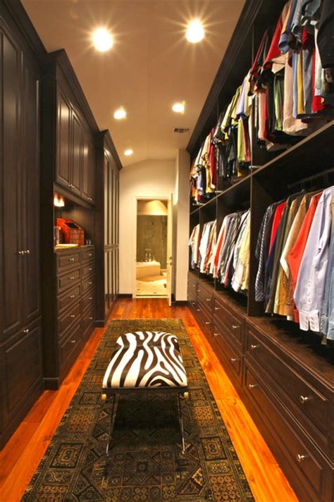 His Closet by His Master In Mocha Traditional Closet New Orleans