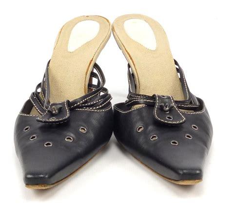 bottega veneta womens shoes 39 us 9 high heels black