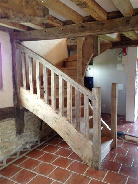 escalier sur mesure les charpentiers du pays d auge r 233 novation isolation charpentes