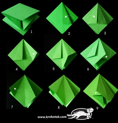 krokotak fold a fir tree