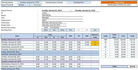 How To Work On Excel Spreadsheet by How To Enter Timesheet In Excel How To Calculate Time On