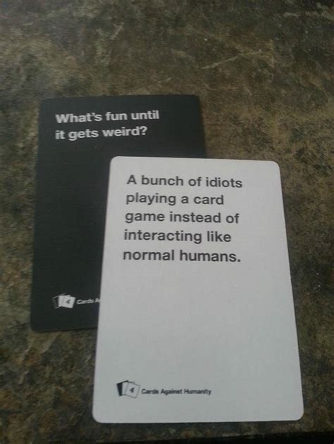 how to make cards against humanity 44 cards against humanity best combos that prove this
