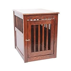 crate end table amazon amazon com dynamic accents end table pet crate