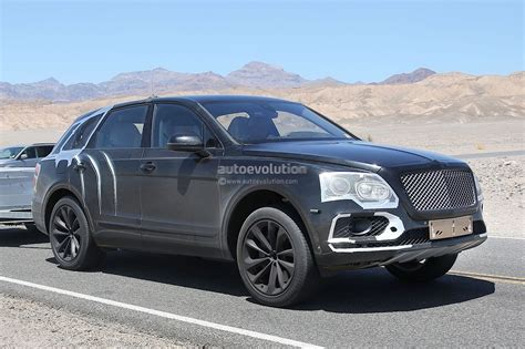 black bentley suv 2016 2016 bentley bentayga suv spied testing in death valley
