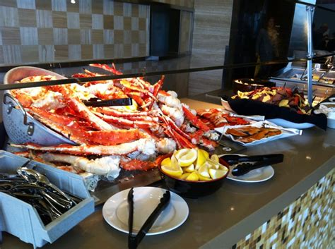 All You Can Eat Alaskan King Crab At The Seafood Buffet All You Can Eat Seafood Buffet