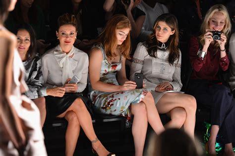 Fashion Marissa 1007 alexandra daddario photos photos mbfw front row at