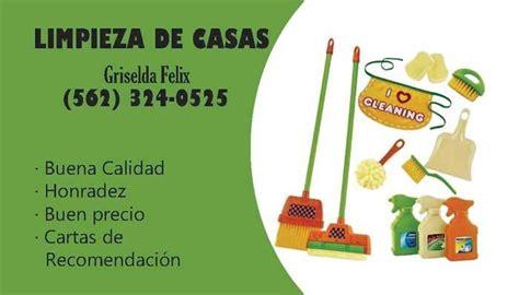 limpieza de casas tarjetas de presentacion para limpiar casas arts arts