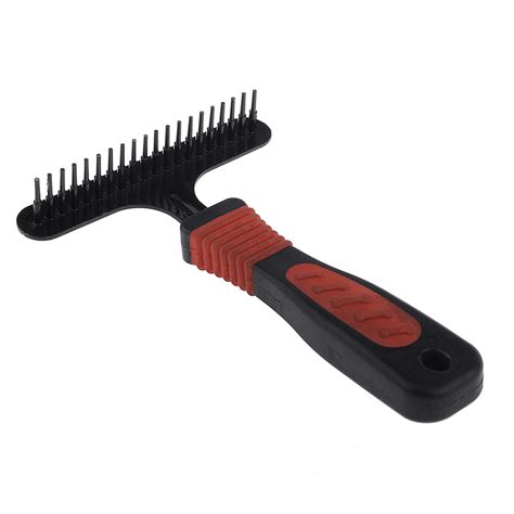 Shedding Rake by Pet Fur Shedding Remove Grooming Rake Comb Brush Cat Metal Handle Ebay