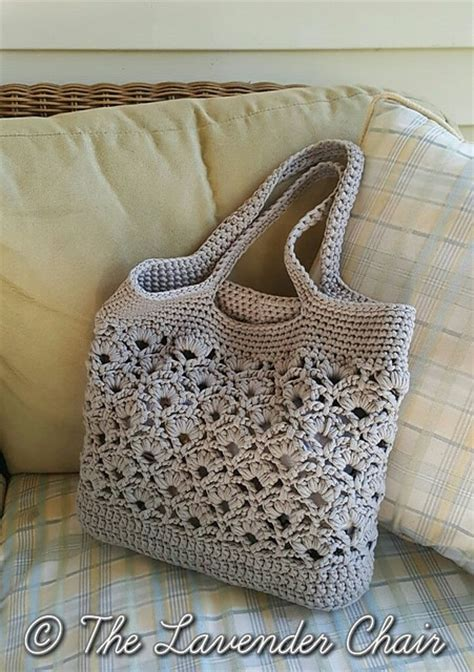 market tote bag crochet pattern crochet tote bag best free patterns the whoot