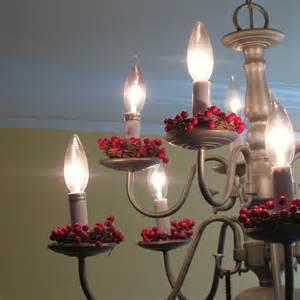 candle chandelier diy shamble ramble diy chandelier cranberry candle wreaths