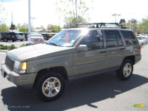 1996 jeep grand colors 1996 charcoal gold satin jeep grand limited 4x4