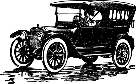 picture of automobile clipart drives car