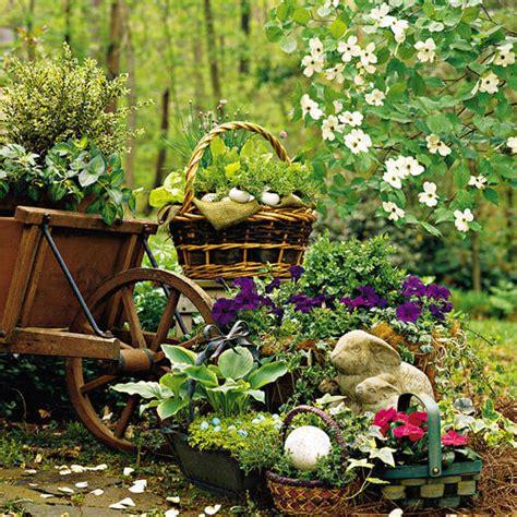 Easter Garden Ideas Plant An Easter Basket Southern Living