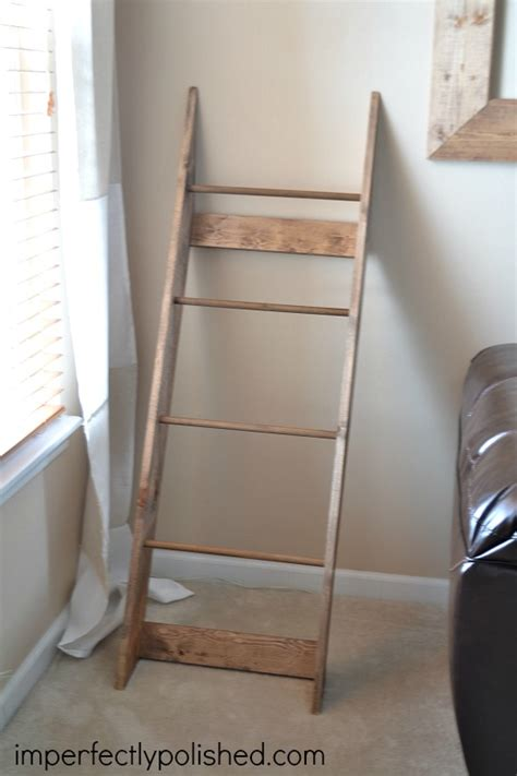How To Build A Quilt Rack by Woodworking Quilt Racks Ladder Style Plans Pdf