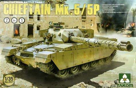 New Marc 2in1 the modelling news in boxed mbt chieftain mk 5 p