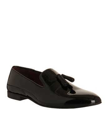 Up To 70 At Office Poste by Poste Aristocrat Loafers Black Patent Leather Smart