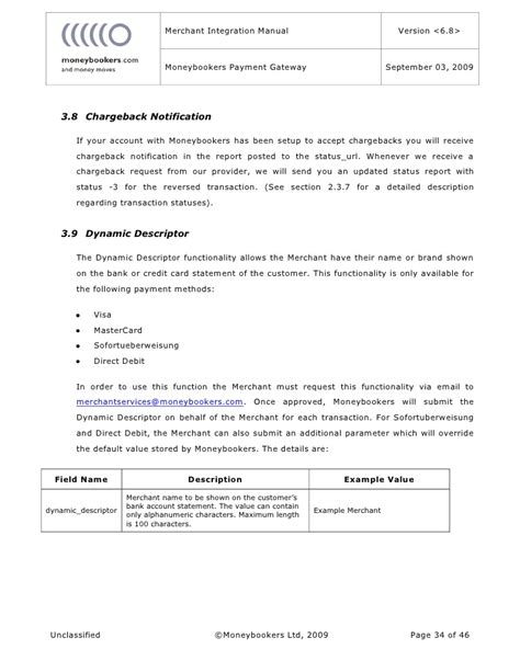 Request Letter For Payment Gateway moneybookers gateway manual
