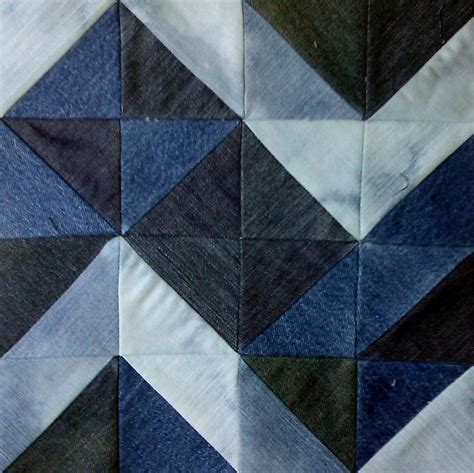pattern for blue jean quilt quilting chunky chevron jean quilt block quilt