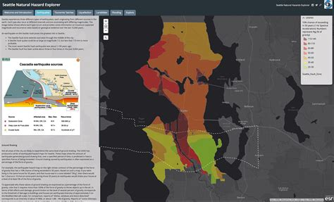 seattle hazard map do you live in a disaster danger zone check this