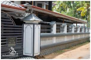Home Design For Wall House Compound Wall Designs In Keralareal Estate Kerala