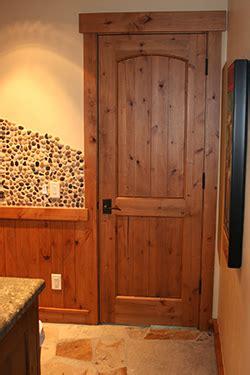 rustic interior door