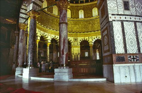 Dome Of Rock Interior by 301 Moved Permanently