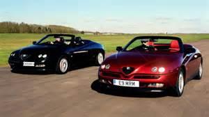 Alfa Romeo Spider Road Test Alfa Romeo Gtv Spider 916 Series Road Test