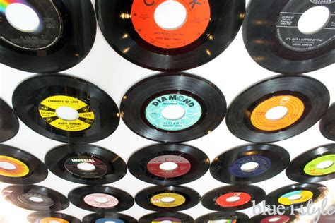 How To Remove Yourself From Records Diy With Style How To Cover A Wall In Vinyl Records