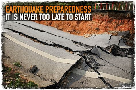 earthquake preparedness emergency ideas earthquake preparedness it is never too