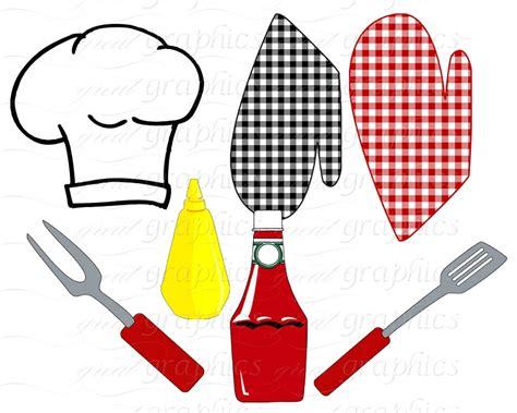 cookout clipart cookout clip outdoor clip digital hamburger